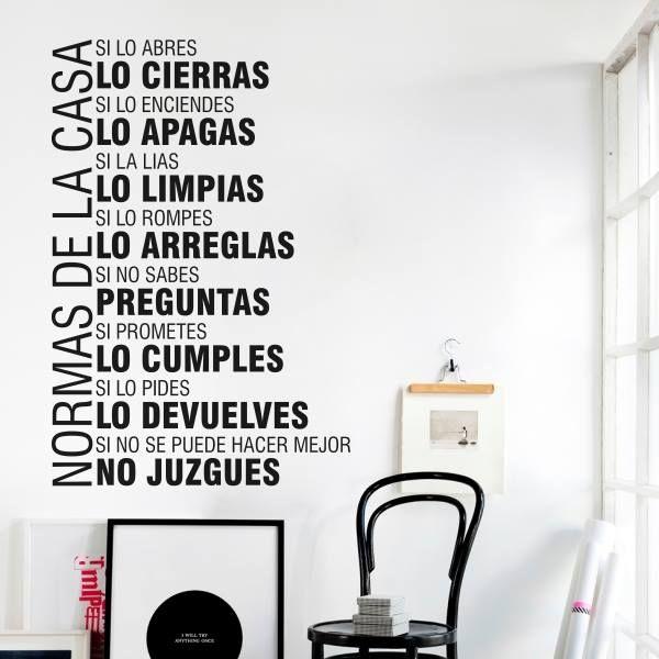 66 best textos vinilos decorativos images on pinterest for Vinilos decorativos sobre musica