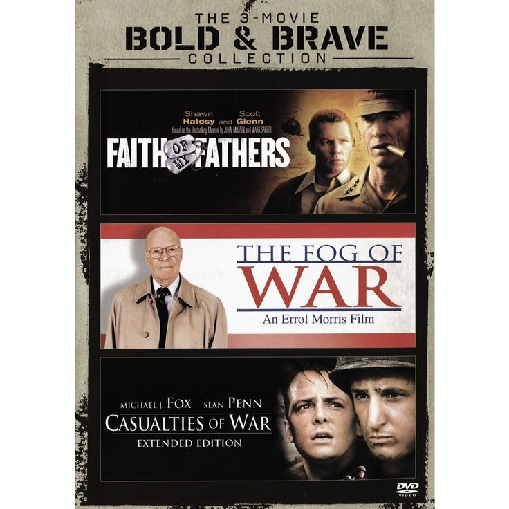 Casualties of War/Faith of My Fathers/The Fog of War