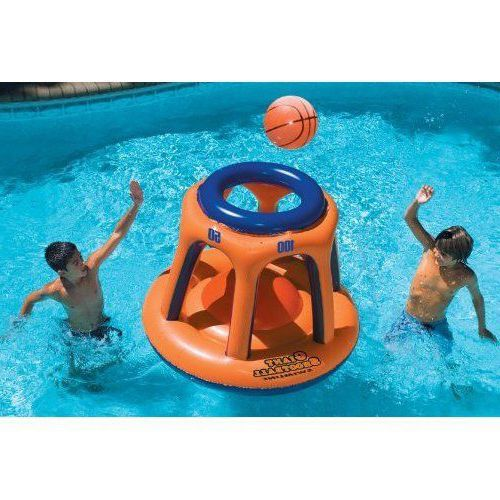 Swimming Pool Inflatable Toy Basketball Game w/ Ball For Kids Adults Summer NEW  #Swimline