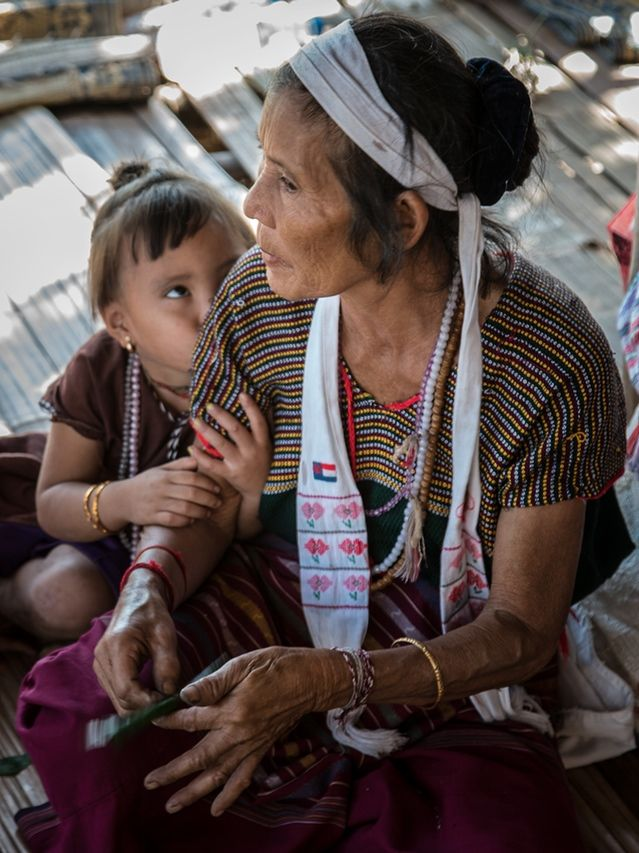 Grandmother & child submitted by backer Barbara White.  http://kck.st/1mWRS3h