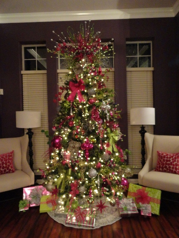 Whimsical Christmas Tree Want Green Purple And Blue Simply Pinterest Decorations