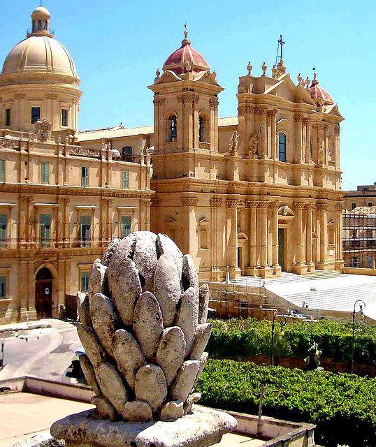 Sicily - Noto Cathedral, Noto, Province of Syracuse , Sicily region Italy
