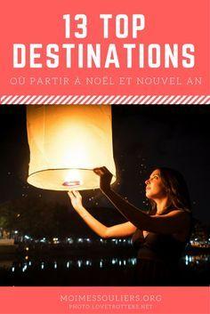 13 top destinations où partir en voyage à Noël ou au Nouvel An
