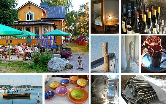 Tiny hotel by the sea: Lanterna, Nauvo, Finland