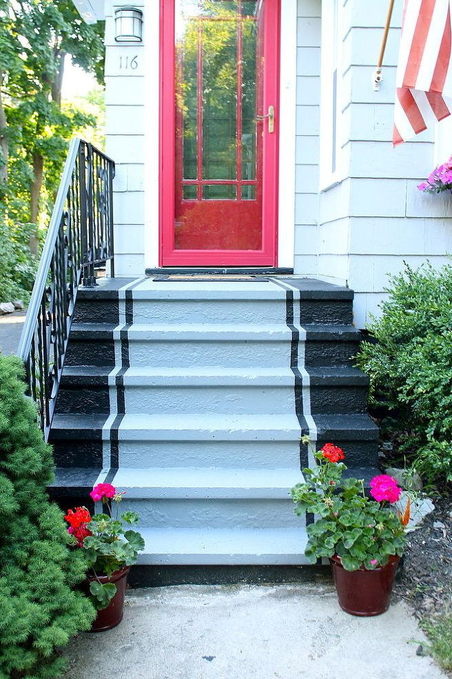25 best ideas about painted cement patio on pinterest for Craftsman style window boxes