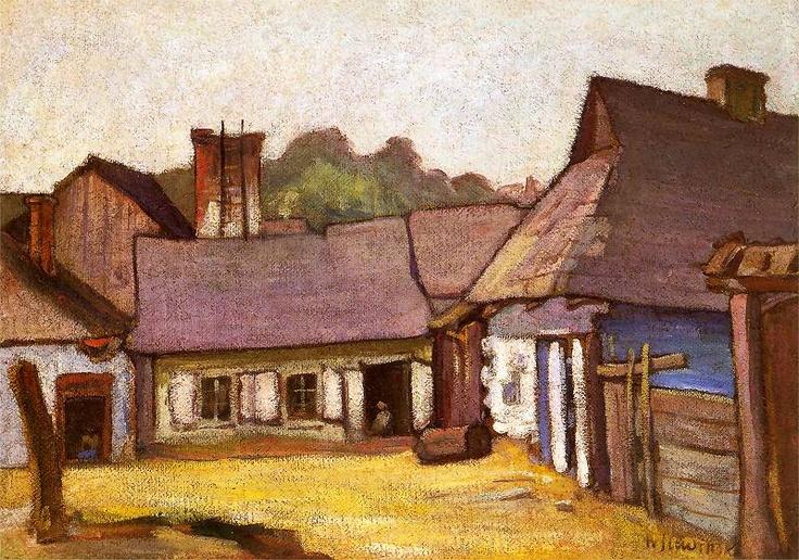 Kazimierz domki | Władysław Ślewiński
