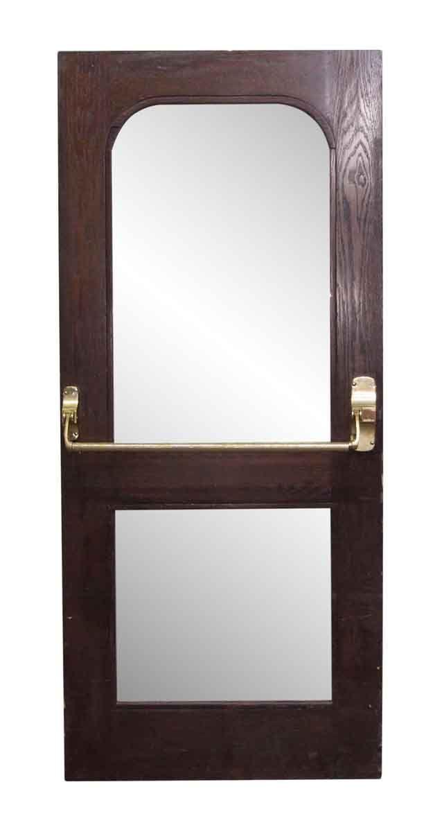 Waldorf Astoria Wooden Door With Etched Glass Wooden Doors Lobby Interior Glass Panels