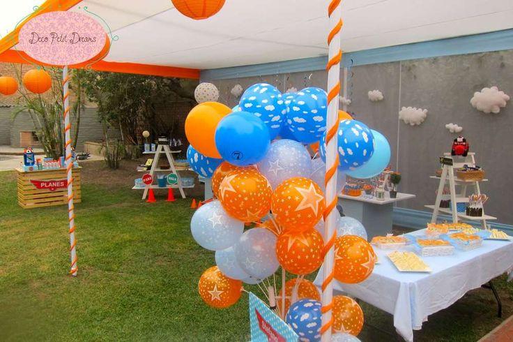 Disney Planes Birthday Party | CatchMyParty.com