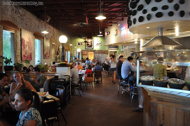 Inside Gueros Taco Bar ~ Austin, TX by Kristi Sauer, via Flickr