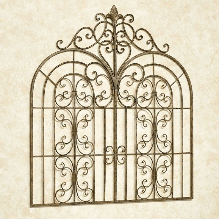 Beyond the Gates Indoor Outdoor Wall Grille
