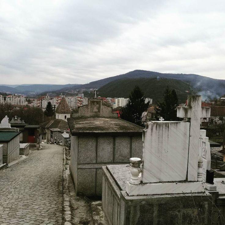 O altă perspectivă a orașului.