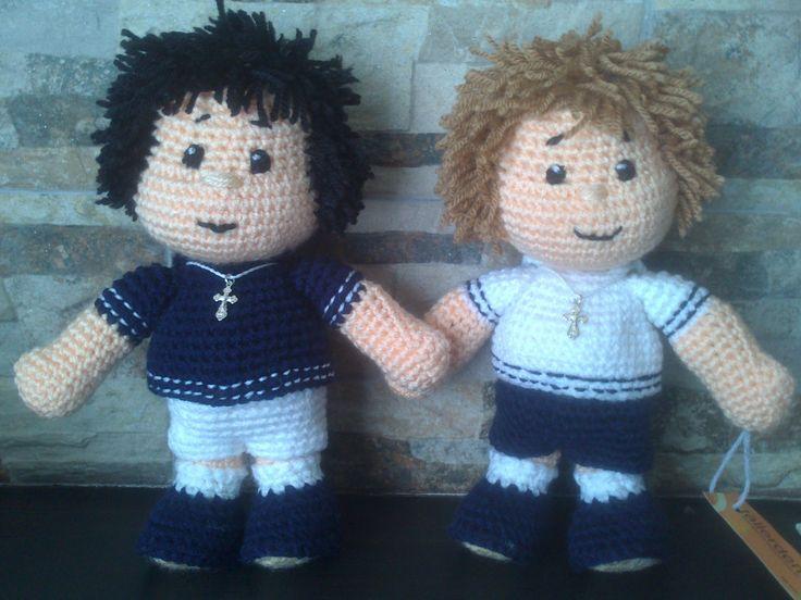 muñecos comunion