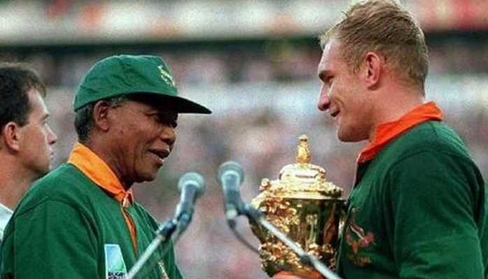 Learning From Great Leaders Mandela Speaking Someone Else S Language Rugby Rugby World Cup World Cup