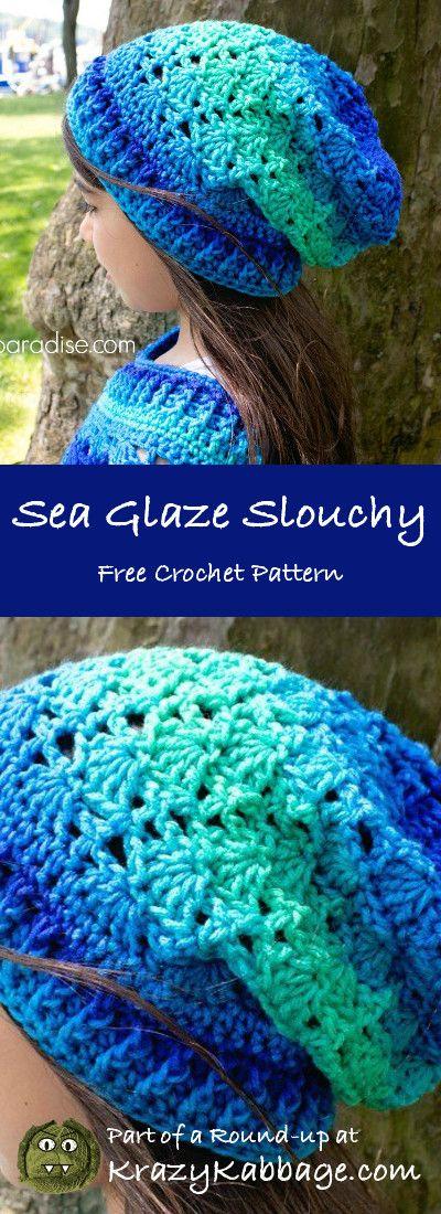 ~ CROCHET & KNITTING ~ pinner anterior escreve: Slouch Chapéus Livre Crochet Patterns ...