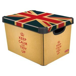 Decorative Storage Boxes With Lids Cardboard