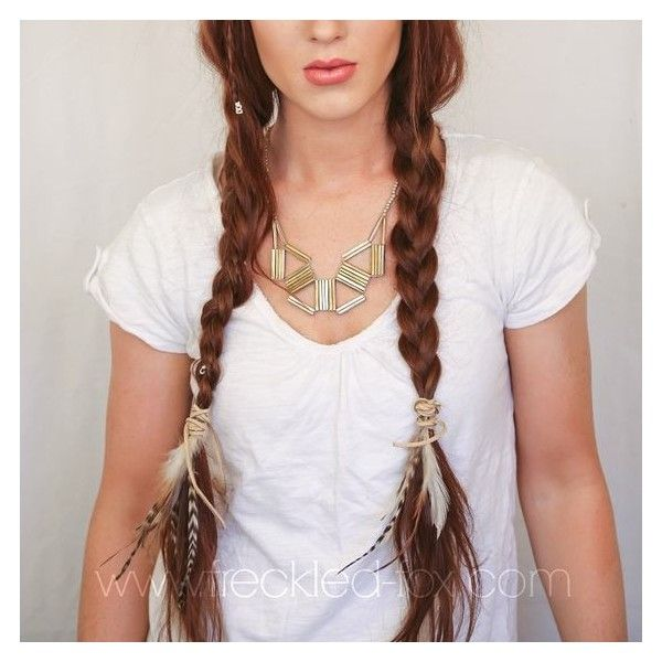 Festival Hair Week Basic Boho Braids a Noonday Giveaway ❤ liked on Polyvore featuring accessories, hair accessories, bohemian hair accessories and boho hair accessories