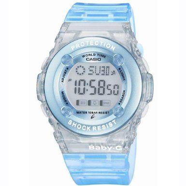 Casio BG-1302-2ER BABY-G ladies digital resin strap watch: Casio: Amazon.co.uk: Watches