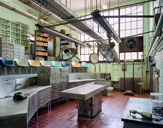 <p>An autopsy theater in St Elizabeths Hospital, Washington, DC</p>