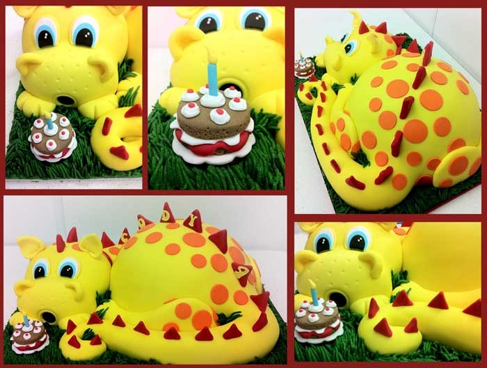 11 best Dragon Ideas images on Pinterest Dragon cakes Sculpted