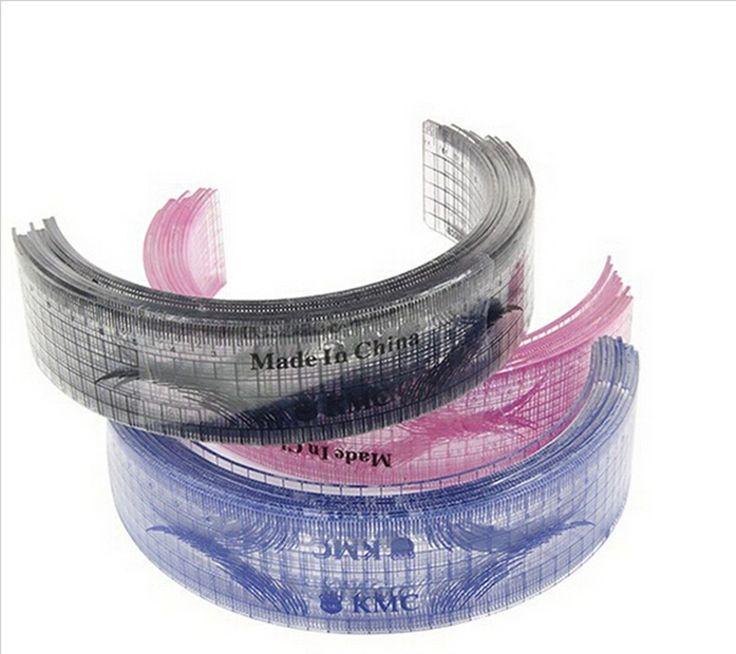 2 Pcs maquillage Permanent pochoirs à sourcils plastique règle KMC tatouage mise…