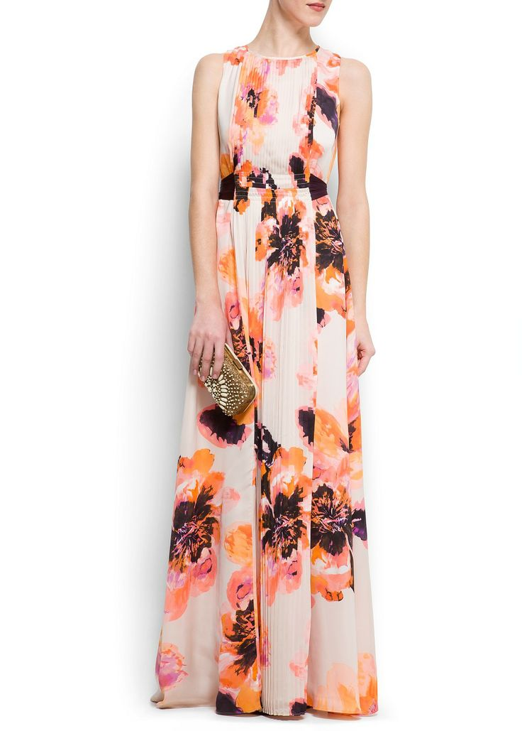 Floral Wedding Guest Fashion | onefabday.com