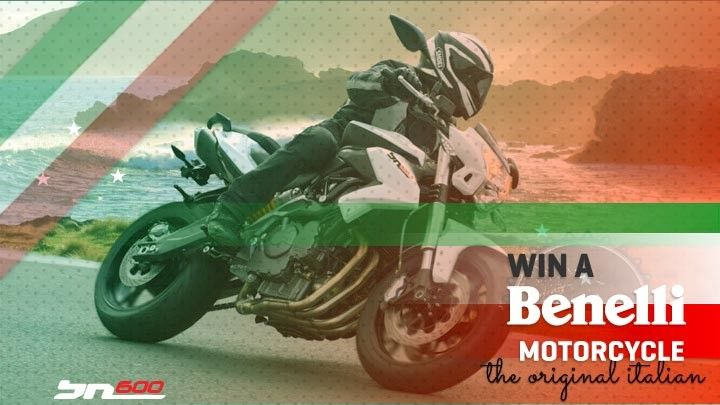 Bikesales.com.au and Benelli Motorcycles have teamed up, giving you the chance to win a brand new Benelli! The lucky winner will get to choose either a 2014 Benelli BN 600i  or 2014 Benelli BN 600S, both valued at over $9,000 including on road costs! Enter now!