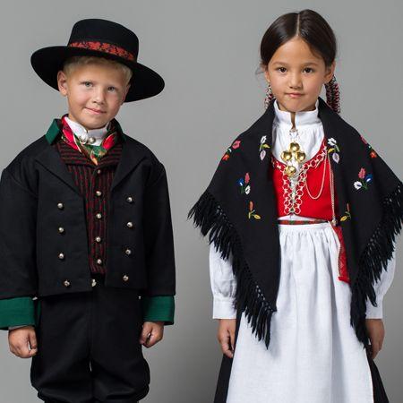 Barnebunad fra Vest-Agder