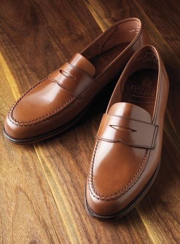 The Harvard Loafer in Whiskey Cordovan   Autumn 2018 Shoe