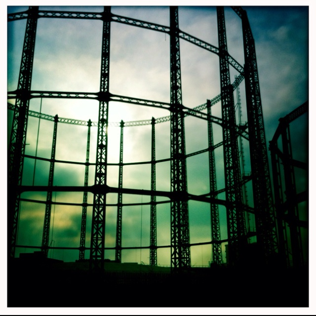 Day 10 - photo project - Hackney gasworks