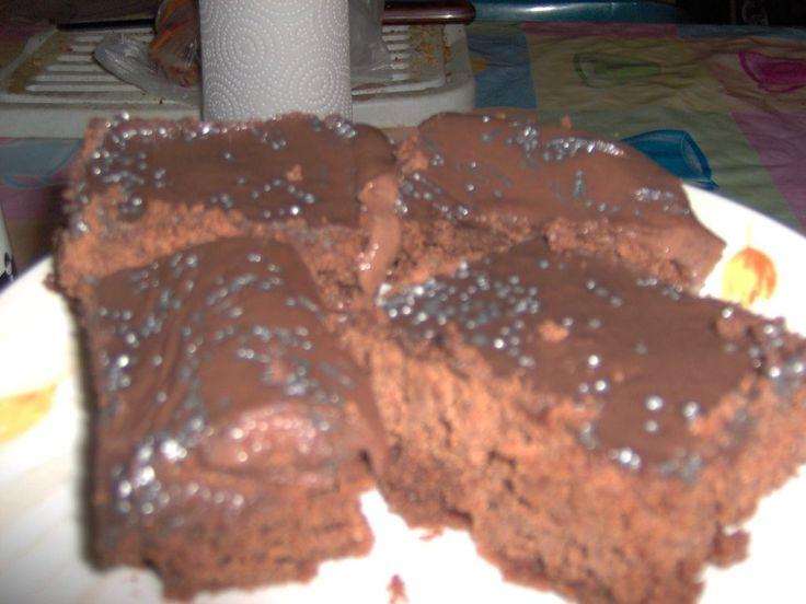 prajitura de ciocolata cu crema