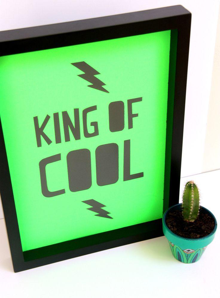 Cloud Nine Creative - King of Cool Print - A4