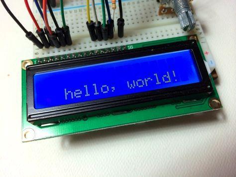 Arduino LCD Install