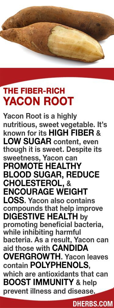 Yacon is known for its HIGH FIBER & LOW SUGAR content, even though it's…