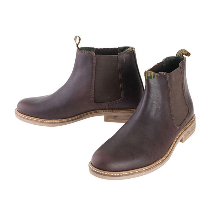 Barbour Men's Farsley Leather Chelsea Boot