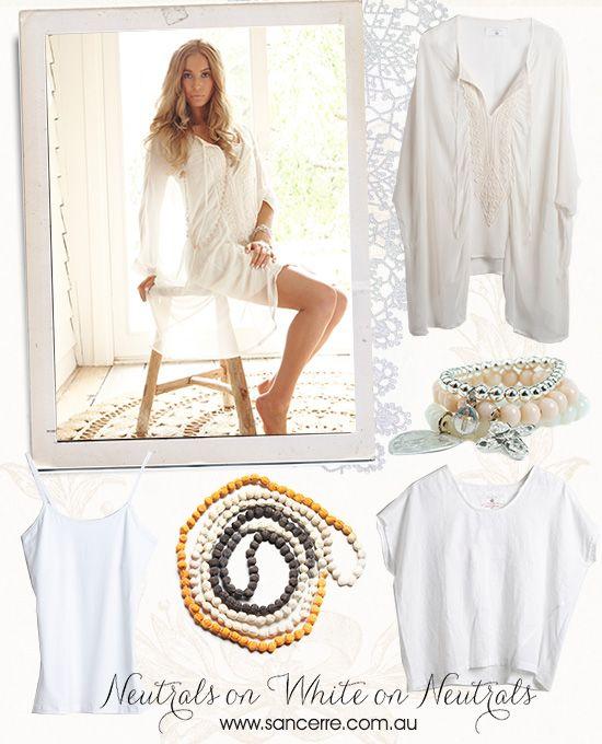 Loving this season's white and neutral trend
