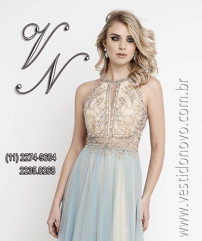 72e05097a Vestido de Debutante importado, busto e costas todo em transparencia  dourado, com brilho e pedr…   Vestidos Debutante Importados - Casa do Vestido  Novo ...