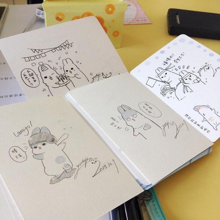 手繪製造機 #ㄇㄚˊ幾 #YUKIJI #うさぎ#drawing #illustration by machiko324