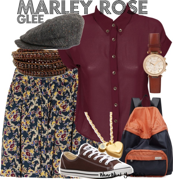 Inspired by Glee character Marley Rose played by Melissa Benoist.