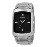 Fossil Men's FS4156 Stainless Steel Bracelet Black Analog Dial Watch (Watch)By Fossil