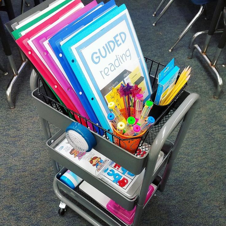 "Target Teachers Michelle&Hadar on Instagram: ""Guided reading happens in different places in my classroom due to the various sizes of my six guided reading groups. My guided reading cart…"""