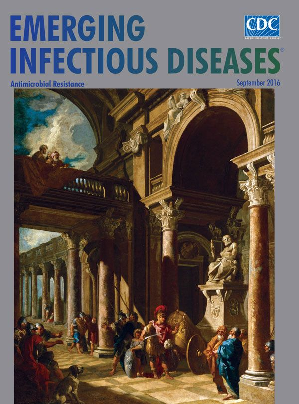 EID's September issue is online. Giovanni Paolo Panini's 18th century painting, Alexander the Great Cutting the Gordian Knot, depicts Alexander solving the puzzle of the Gordian Knot by cutting rather than untying it. In doing so, he fulfills the knot's prophecy, subsequently conquering Asia. Antimicrobial resistance has become a modern Gordian Knot. It will require epidemiologists to take a novel approach, much like Alexander the Great did, to untangle this new threat.