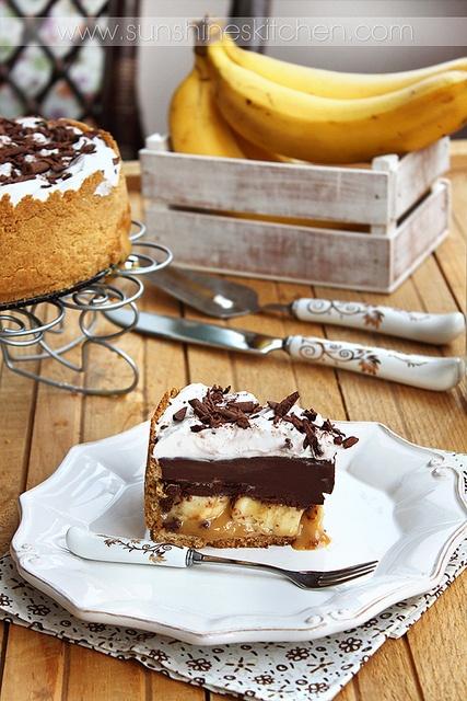 tarts - chocolate caramel banana pie   Food!   Pinterest