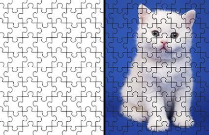 Free Puzzle Pieces Template