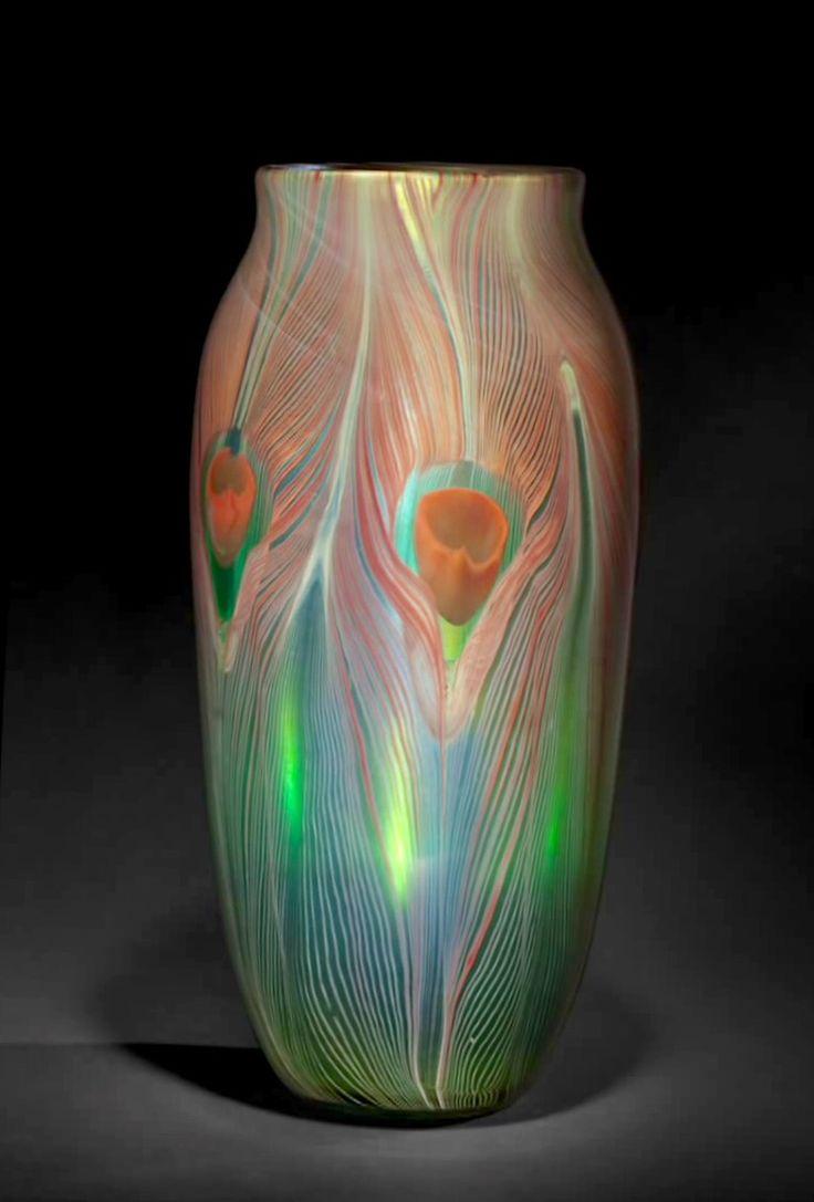 227 best glass lc tiffany images on pinterest tiffany glass l c tiffany peacock vase reviewsmspy