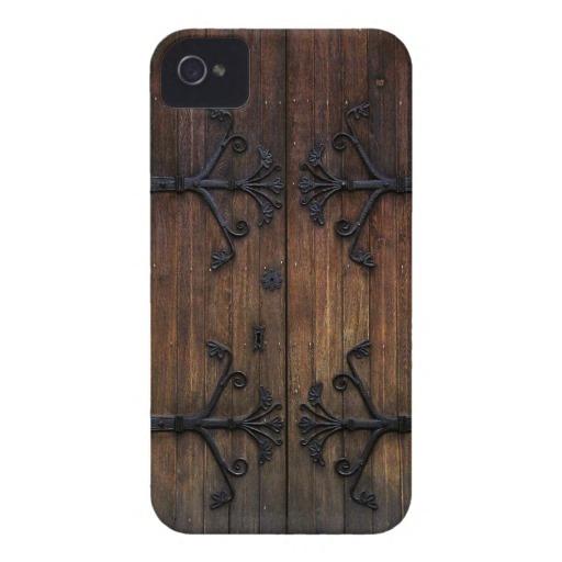That's even cuter! Old Wooden Door iPhone Covers