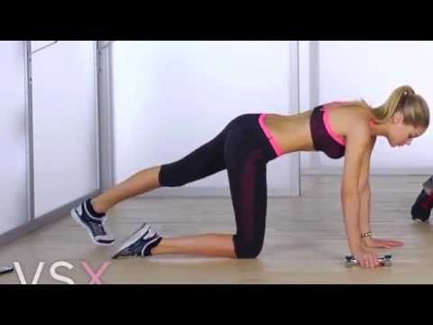 Victoria's Secret Workout-ARMS - YouTube