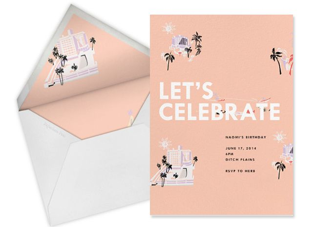 Love these cards from the J. Crew x Paperless Post collab.