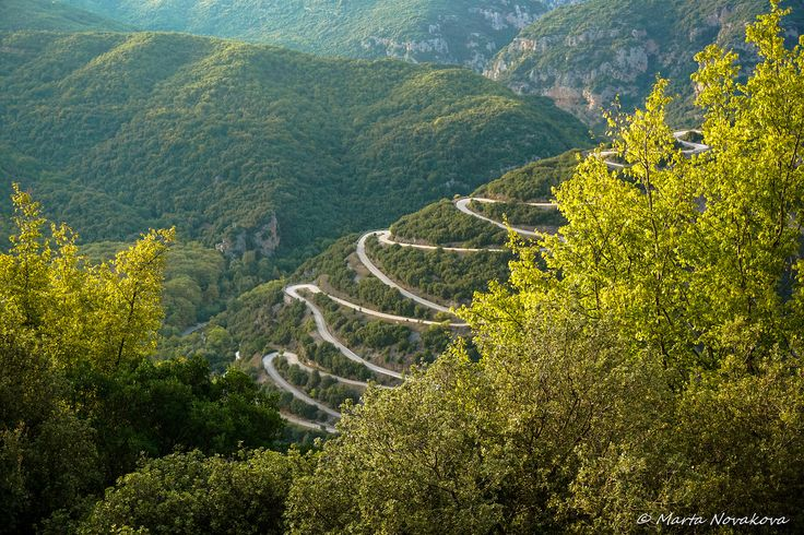 Road to paradise | The only road that lead to Papingo, Epirus, Greece