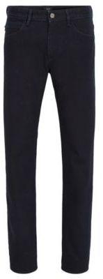 HUGO BOSS 11.2 oz Cotton Jeans, Slim Fit Delaware MB 33/32Blue