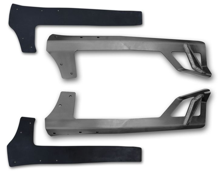 JK Light Bar Mount (Steel) Rigid 50 LED Poison Spyder